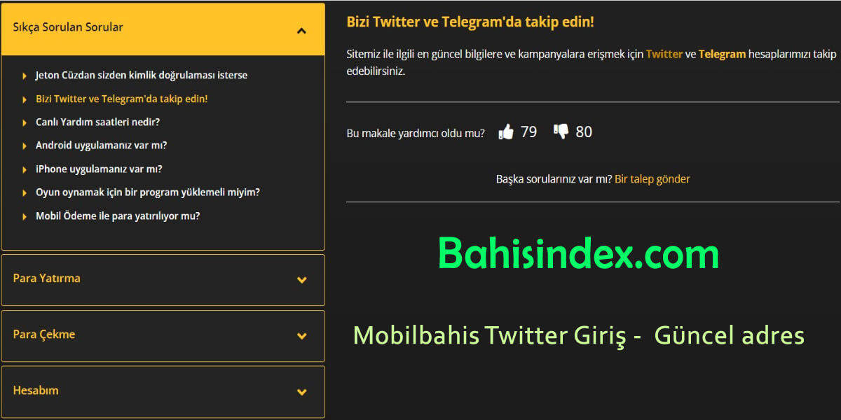 Güncel - Mobilbahis twitter giriş - Mobilbahis resmi adresi
